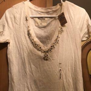 Beaded Hollister t-shirt